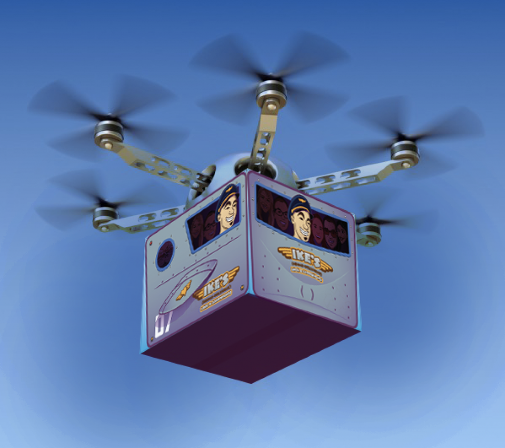 ikes drone