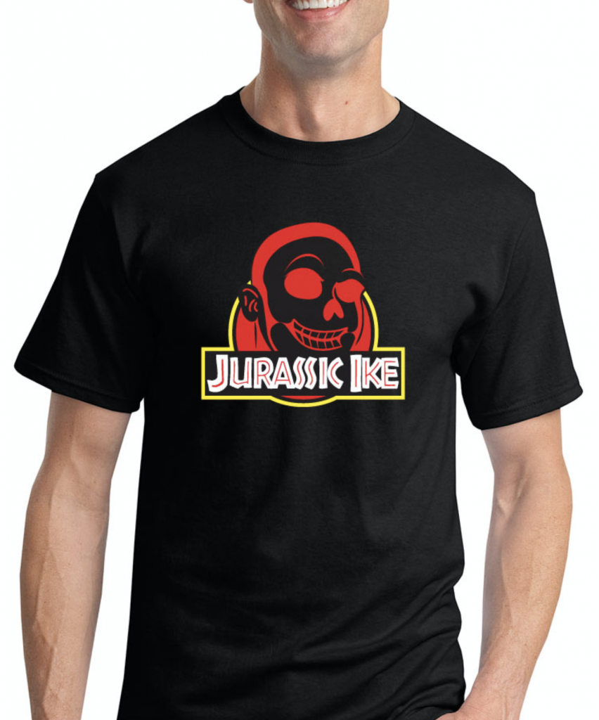 jurassic ike shirt