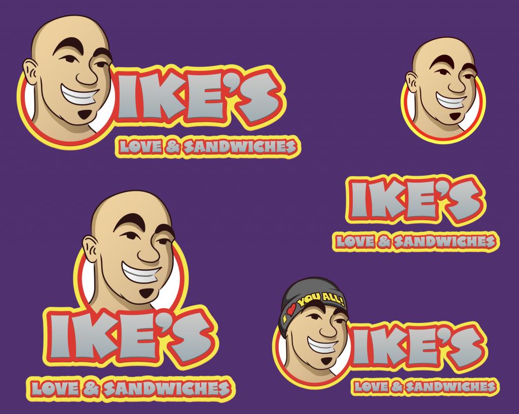 ike's logo sheet