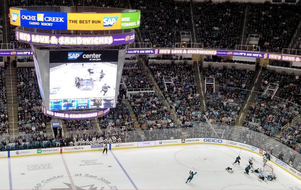 sharks digital billboard