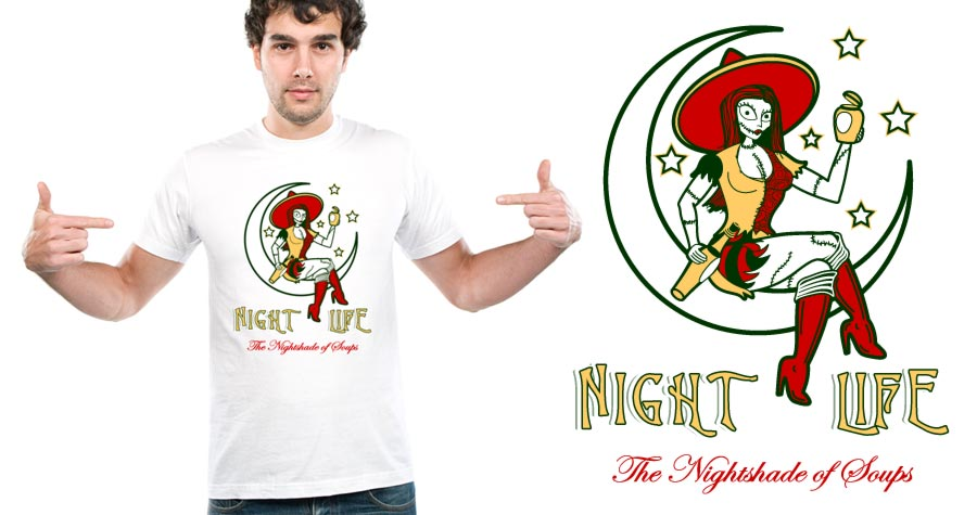 sally nightmare shirt
