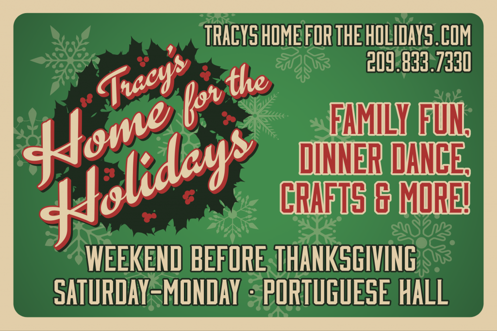 home for holidays sign