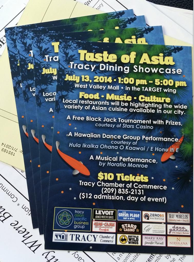taste of asia postcards