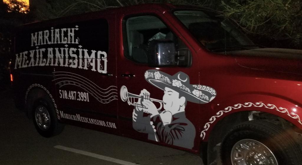 mariachi van night